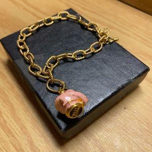 Mary Kay Pink & Gold Tone Scent-Sational Bracelet